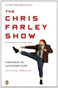 A book about comedy legend Chris Farley