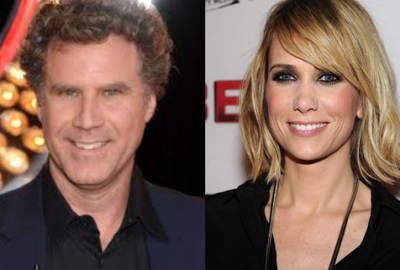 SNL stars Will Ferrell and Kristen Wiig