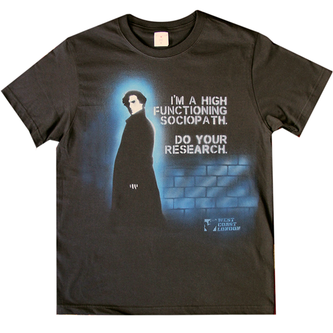 Sherlock Fan T-Shirt
