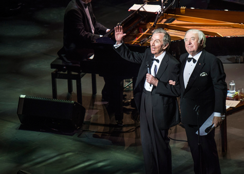 Des O'Connor and Jimmy Tarbuck at The London Palladium