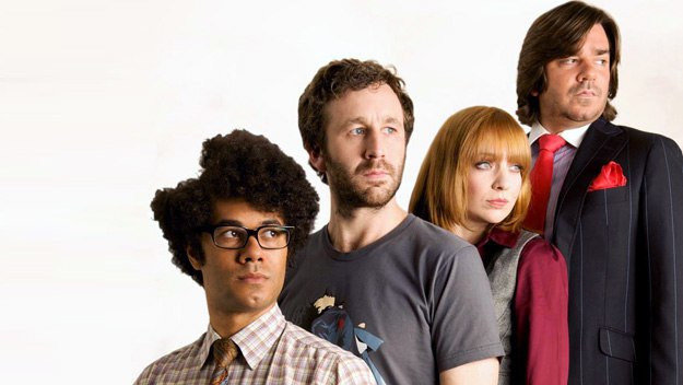 The IT Crowd, script edited by writer Andrew Ellard on The Gray Escape with Natalie Gray
