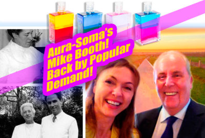 Near Death Experience with Aura-Soma Chairman Mike Booth on The Gray Escape with Natalie Gray
