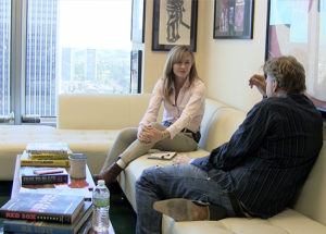 Barry Katz being interviewed on The Gray Escape with Natalie Gray