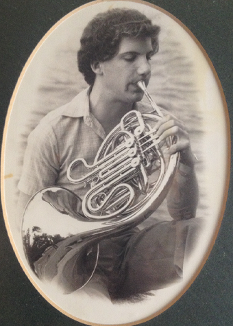 Voiceover actor David Sobolov plays French Horn