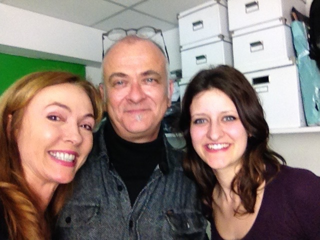 Natalie Gray with Pier Rubesa and his daughter Nina - Ep 37 - extraterrestrial sound healing episode of The Gray Escape