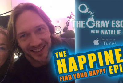 Arnaud Collery on The Gray Escape with Natalie Gray podcast | Happiness Episode